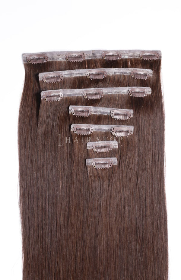 Brown Clip-in Hair Extensions