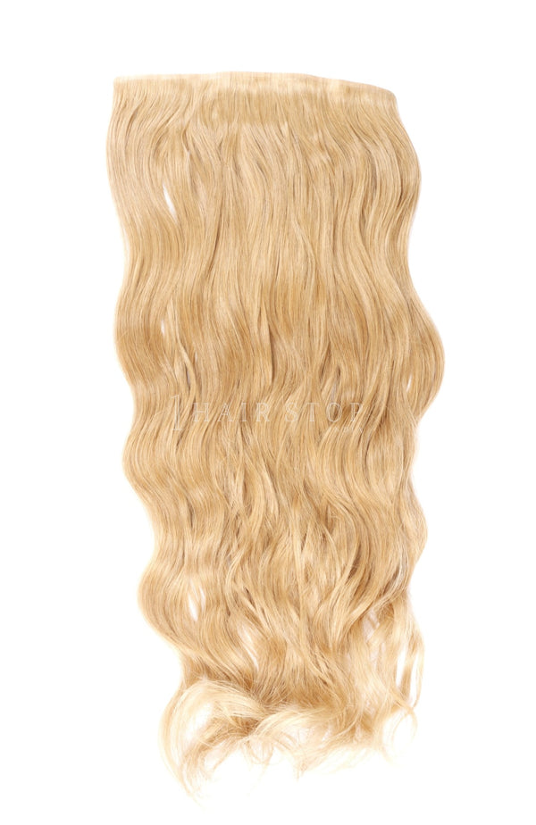Blonde Invisi Clip-In Extensions