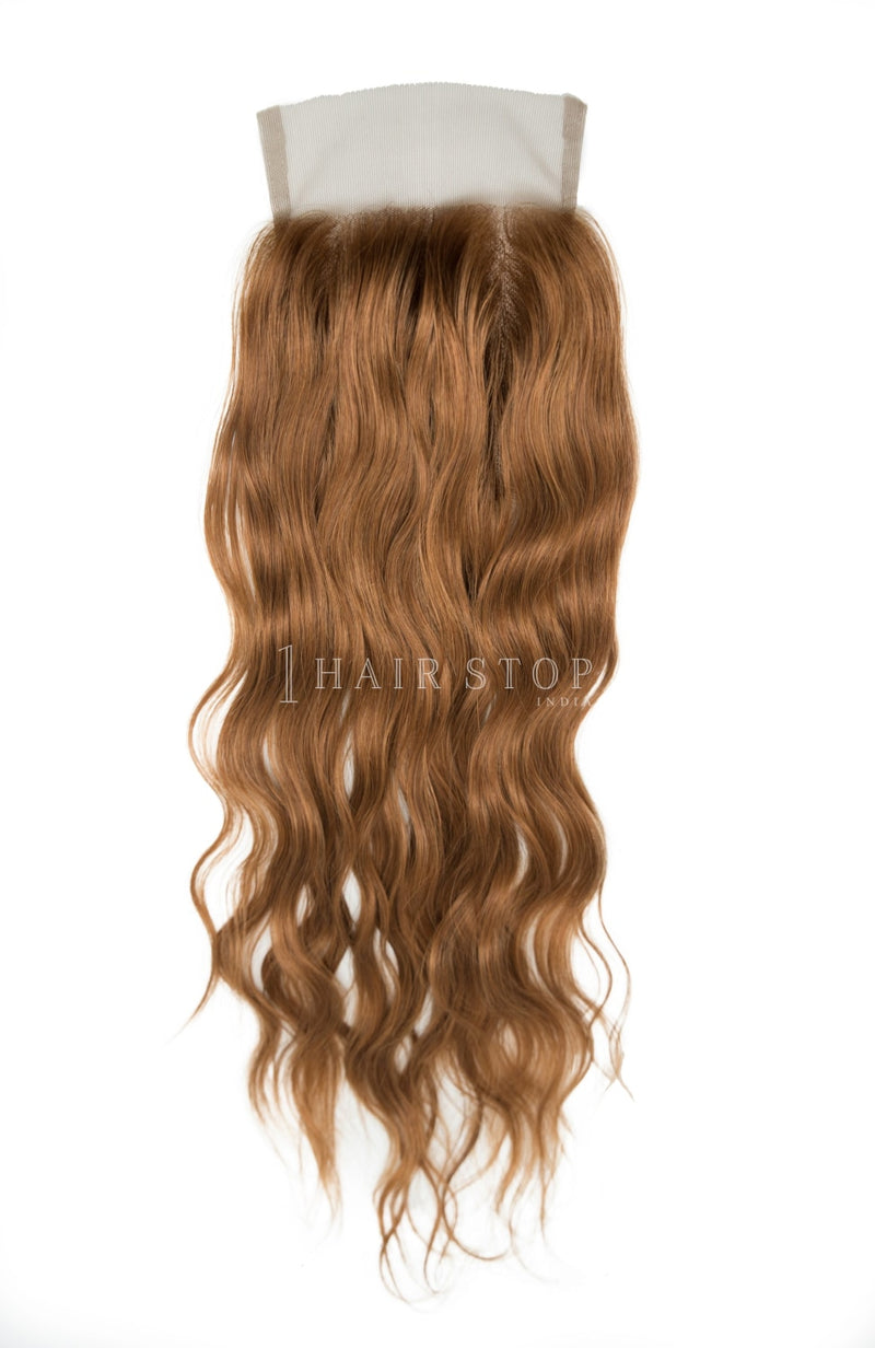 Brown Wavy Lace Closures