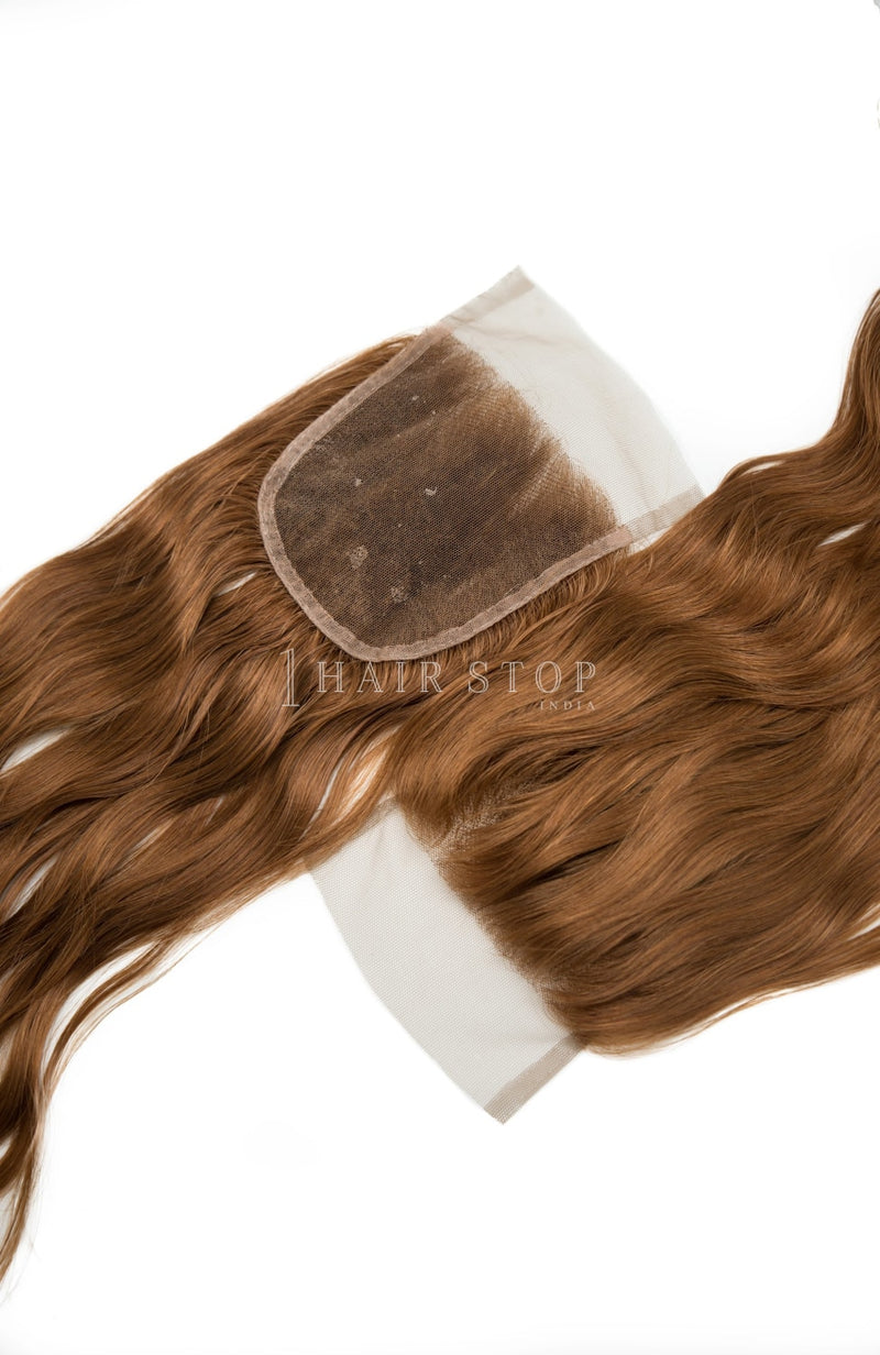 Swiss Lace Closures in Brown