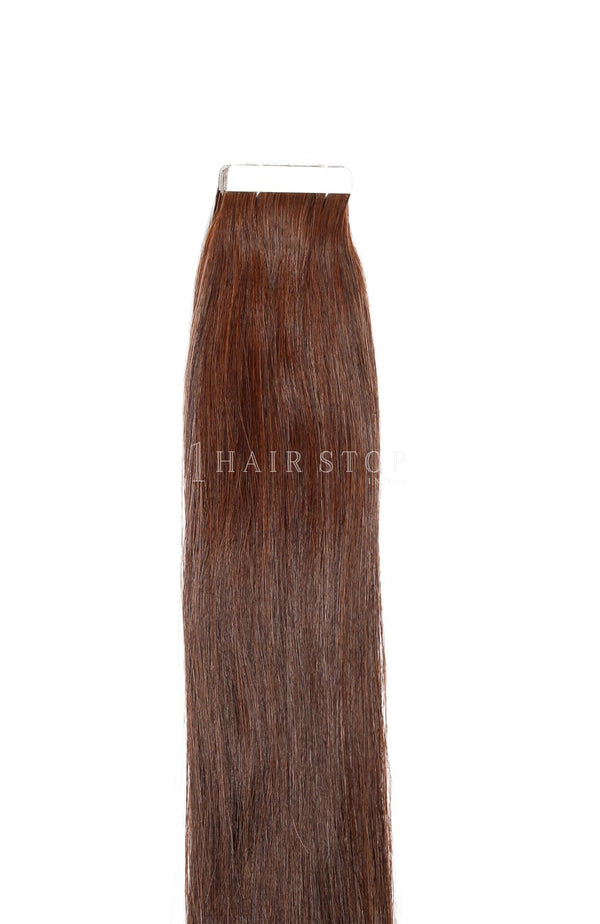 Chocolate brown hair extensions