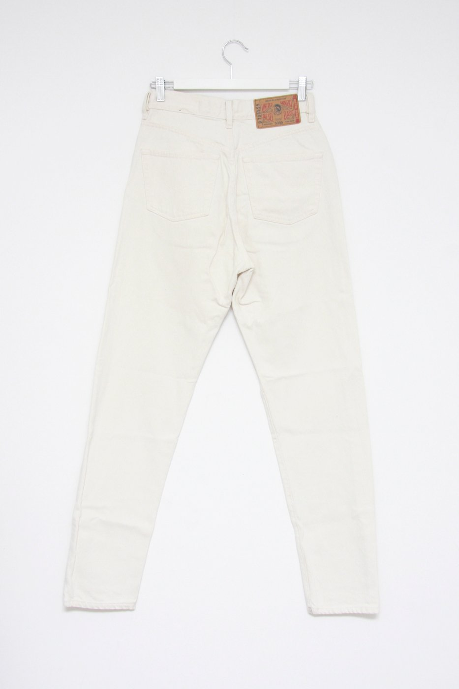 0470_DIESEL VINTAGE W30 OFF WHITE MOM JEANS