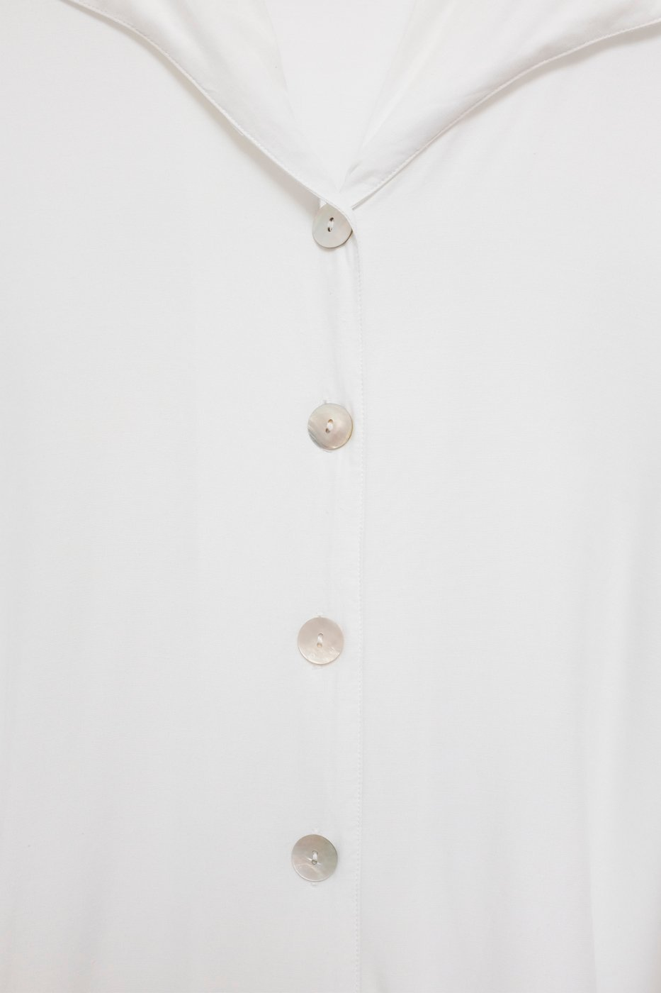 0440_KNOTTED WHITE VINTAGE BLOUSE