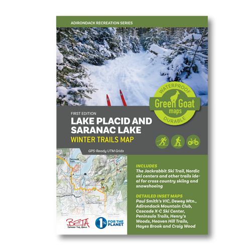 Lake Placid & Saranac Lake Winter Trails Map