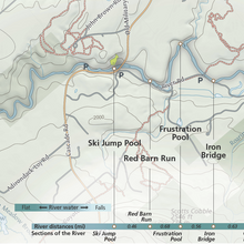 Load image into Gallery viewer, Ausable River Fly Fishing Map