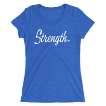 Load image into Gallery viewer, Strength Ladies' short sleeve t-shirt