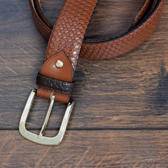 Textured Hampton Belt - MEN - ACCESSORIES - BELTS - Mates In Style Fashion