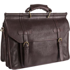 Roma  Leather Briefcase | Buy MEN - BAGS - BRIEFCASES Products Online With the Best Deals at Anbmart.com.au!