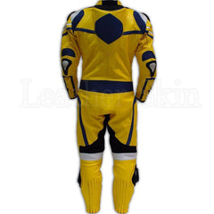 Yellow Black Biker Leather Suit | Buy MEN - APPAREL - OUTERWEAR - JACKETS Products Online With the Best Deals at Anbmart.com.au!