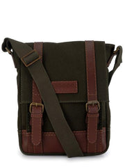 Phive Rivers Men's Green Messenger Bag-PR1150 | Buy MEN - BAGS - CROSSBODY Products Online With the Best Deals at Anbmart.com.au!