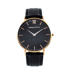 Rose Gold Black / Black | Buy MEN - ACCESSORIES - WATCHES Products Online With the Best Deals at Anbmart.com.au!