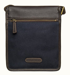 Hidesign Aiden Small Canvas Leather Cross Body | Buy MEN - BAGS - CROSSBODY Products Online With the Best Deals at Anbmart.com.au!