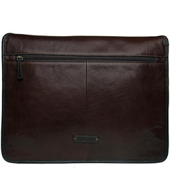 Hidesign Harrison Buffalo Leather Laptop Messenger - MEN - BAGS - CROSSBODY - Mates In Style Fashion