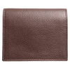 Grained Calf Leather Card Wallet Brown 3 - MEN - ACCESSORIES - WALLETS & SMALL GOODS - Mates In Style Fashion