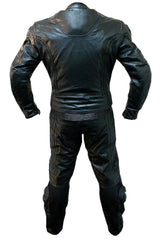 Black Biker Racing Leather Suit | Buy MEN - APPAREL - OUTERWEAR - JACKETS Products Online With the Best Deals at Anbmart.com.au!