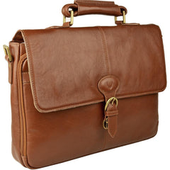 Parker Leather Medium Briefcase | Buy MEN - BAGS - BRIEFCASES Products Online With the Best Deals at Anbmart.com.au!