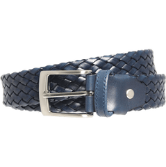 34 Mm Tubular Weave Belt Navy | Buy MEN - ACCESSORIES - BELTS Products Online With the Best Deals at Anbmart.com.au!