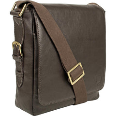 William Vertical Leather Messenger - MEN - BAGS - CROSSBODY - Mates In Style Fashion
