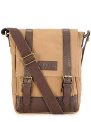 Phive Rivers Men's Khaki Messenger Bag-PR1149 | Buy MEN - BAGS - CROSSBODY Products Online With the Best Deals at Anbmart.com.au!