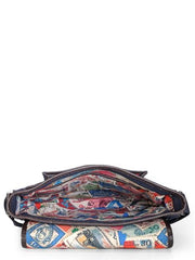Phive Rivers Men's Blue Messenger Bag-PR1106 | Buy MEN - BAGS - CROSSBODY Products Online With the Best Deals at Anbmart.com.au!
