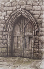 A study of a doorway St. Mary's, Ovingham