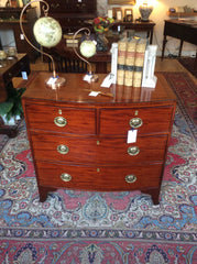 Regency Bowfronted chest of drawers