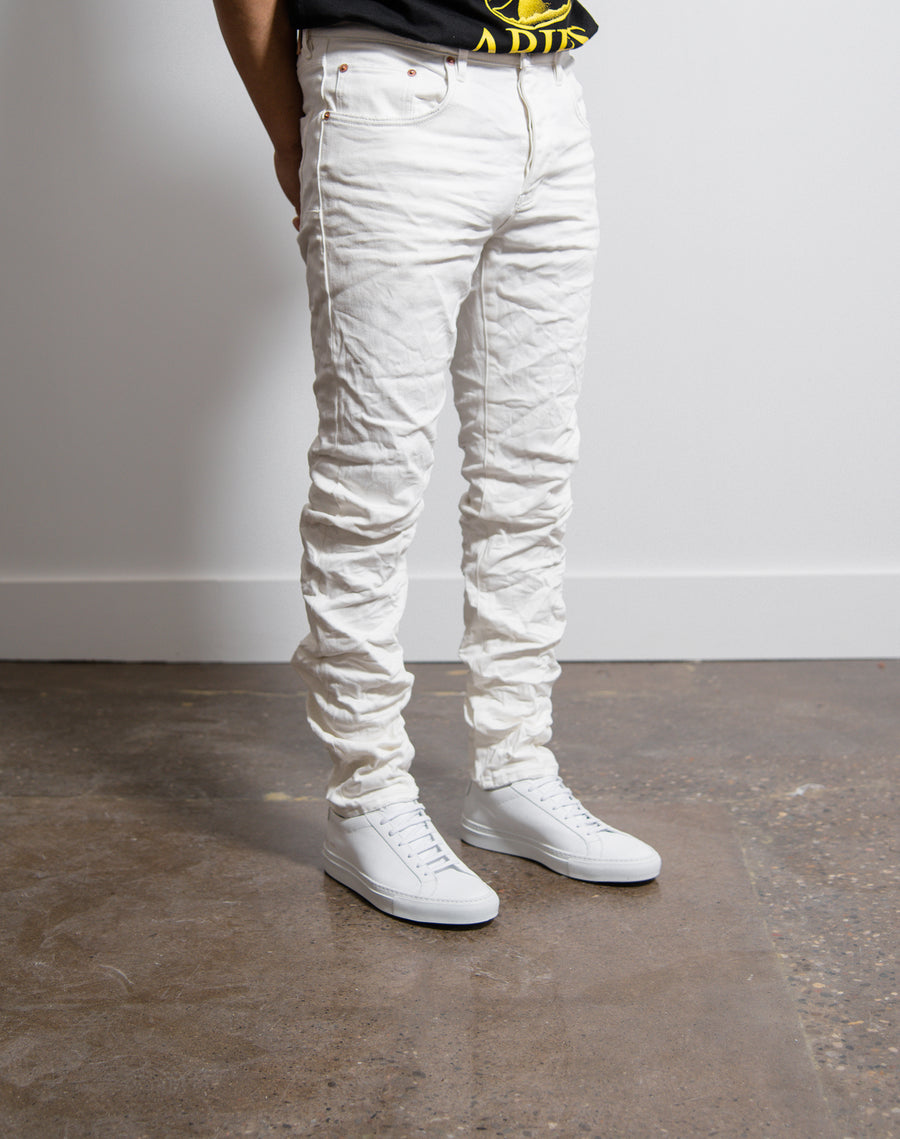 Slim Fit Jeans White Wash