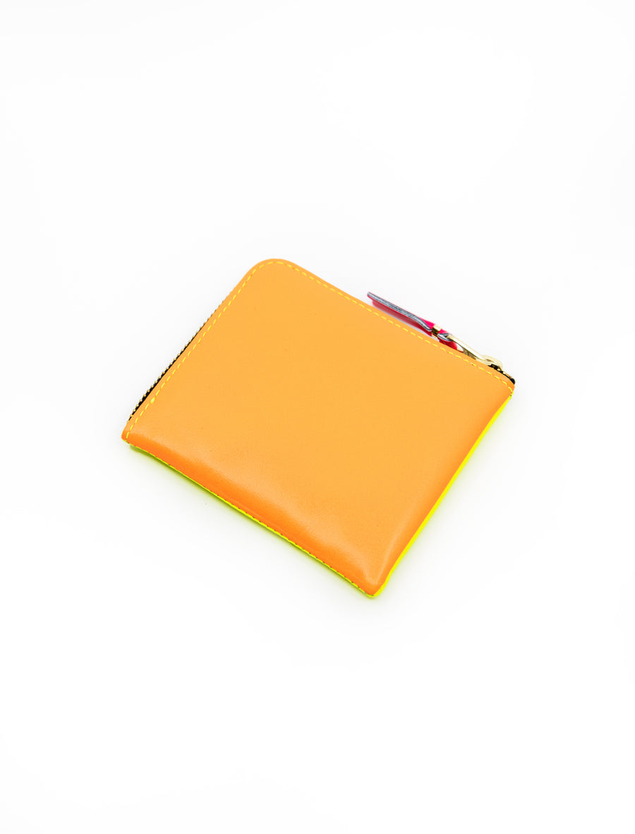 Super Fluo 2-Sided Zip Wallet Yellow/Orange SA3100SF