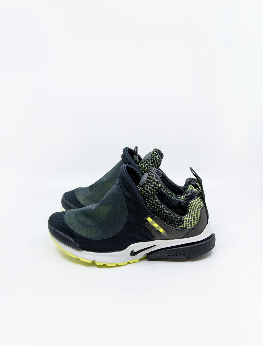 CDG Homme Plus Nike Air Presto Foot Tent Anthracite/Lemon/Black