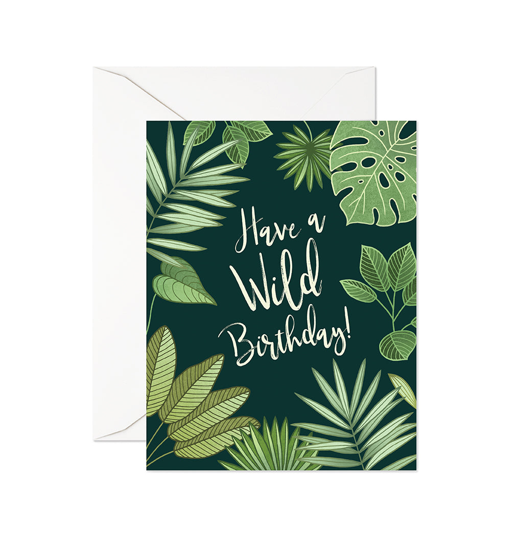Wild Birthday Card