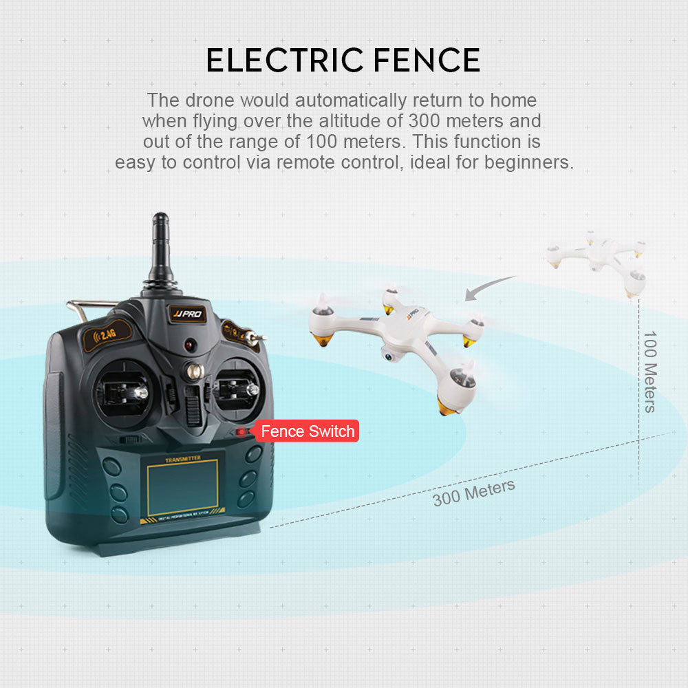 Quadcopter Drone Premium LED Lighting FPV Helicopter Four-Axis Aircraft 4 Channels 1080P Positioning Automative Collected