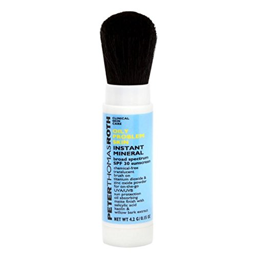 Peter Thomas Roth Oily Problem Skin Instant Mineral SPF 30, 0.15 Ounce