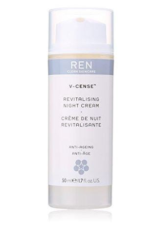 Ren V-Cense Revitalising Night Cream, 1.7 Ounce