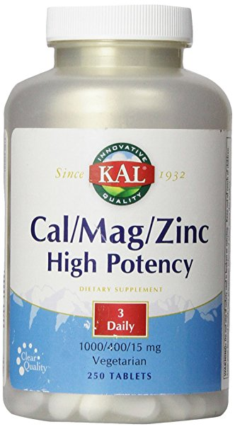 Kal Cal/Mag/Zinc High Potency