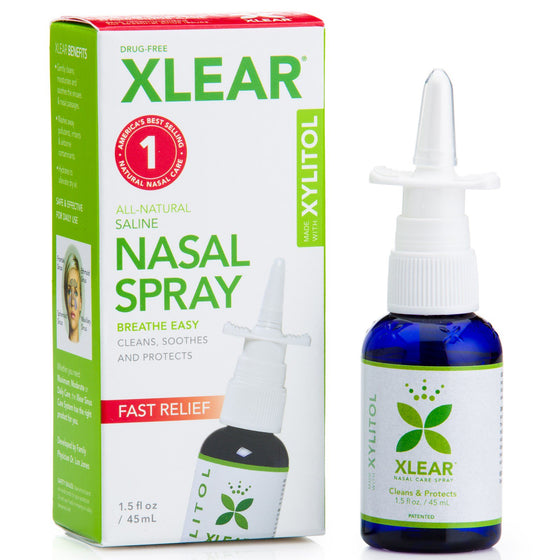 Xlear Xylitol and Saline Nasal Spray