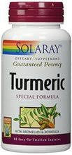 Solaray Guaranteed Potency Turmeric 200mg 60 count