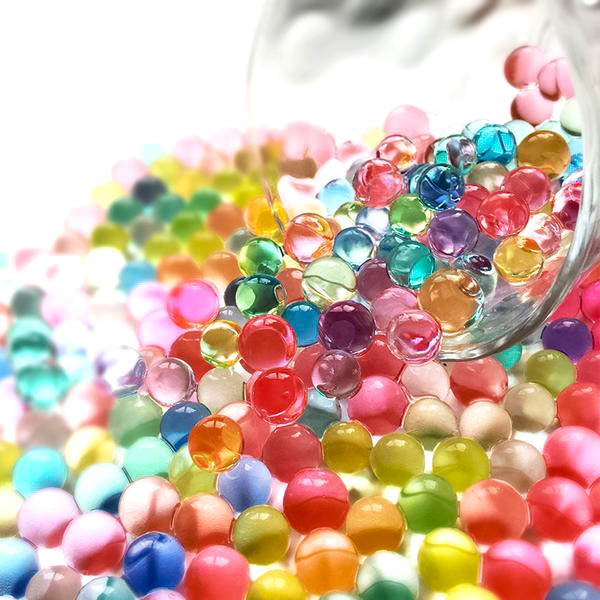 A 1000 Mini Bio Beads! - oddly satisfying slime