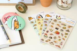 "Gudetama Stickers: Option 2 ""Play With Me"""
