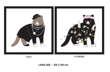Load image into Gallery viewer, Curo Fashion Print Gallery