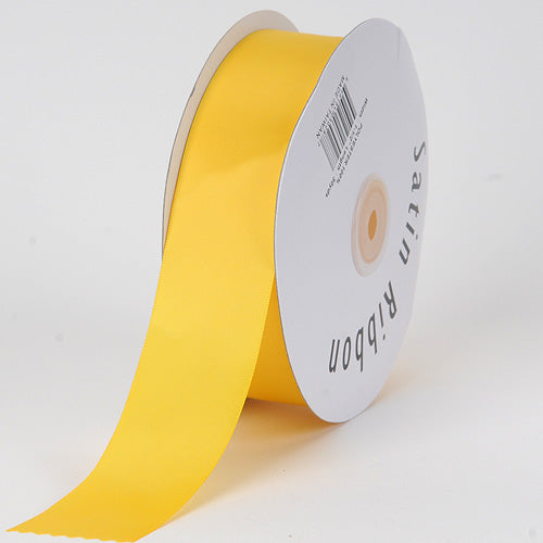 Daffodil - Satin Ribbon Single Face - ( 5/8 inch | 100 Yards )