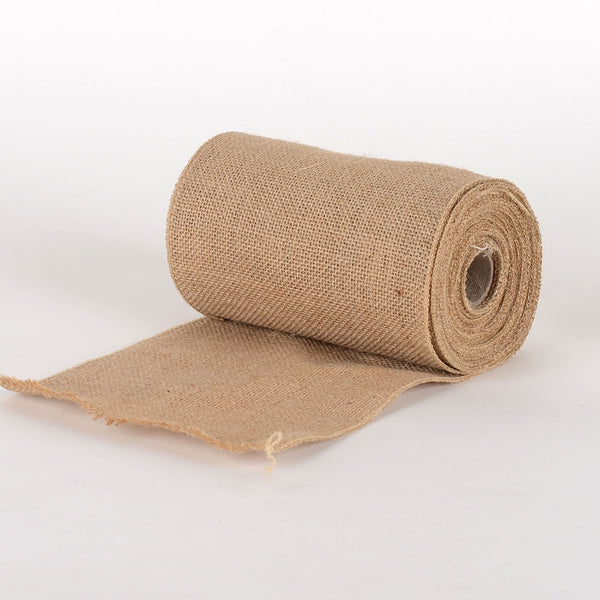 Pre-Order Now and Ship On July 18th! - Natural Burlap Net Roll - ( W: 6 inch | L: 5 Yards ) -  960058GO