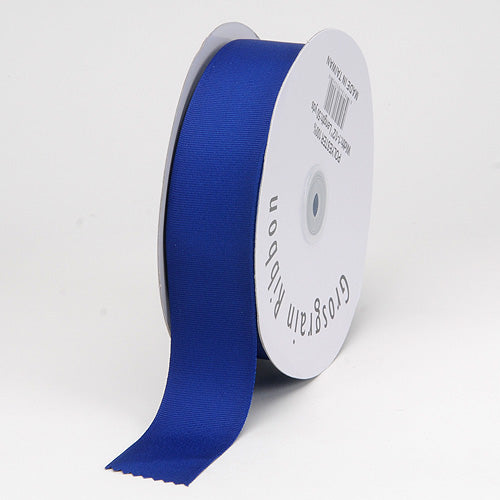 Royal - Grosgrain Ribbon Matte Finish - ( 1/4 inch | 50 Yards )