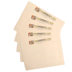 QB Wrist Coach 5 Pack Play Sheets 30 Inserts with template for printable inserts