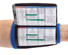 Playbook Wristband - Youth - Royal