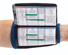 Playbook Wristband - Youth - Navy