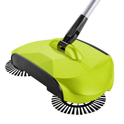 STAINLESS STEEL SWEEPING MACHINE (NO ELECTRICITY/BATTERIES NEEDED)
