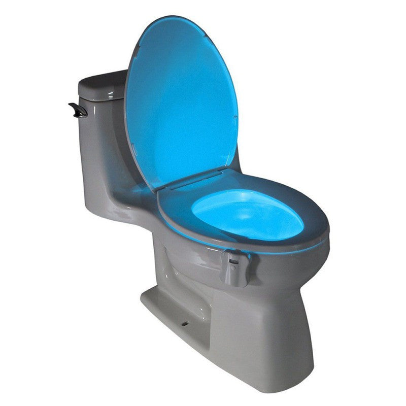Rainbow Toilet Light with Motion Sensor