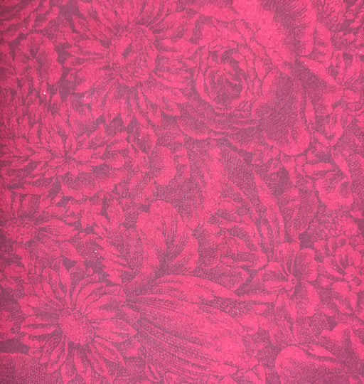 "Dark Red 115"" Wide Back 312-D"