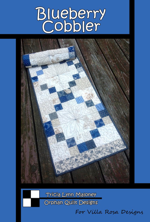 BLUEBERRY COBBLER Running Doe Quilts for Villa Rosa Designs