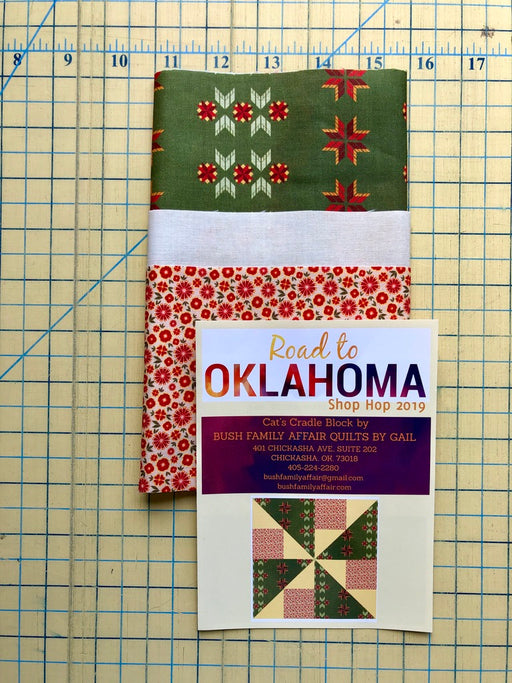 Bush Family Affair Road to Oklahoma Shop Hop Block Kit